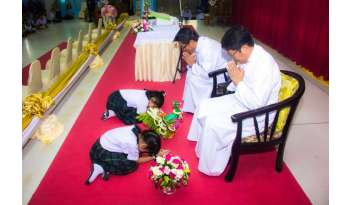 พิธีไหว้ครูประจำปีการศึกษา-2560โรงเรียนดรุณากาญจนบุรี