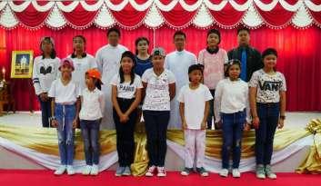 ประสานมือพัฒนาศักยภาพนักเรียน-ดรุณากาญจนบุรี