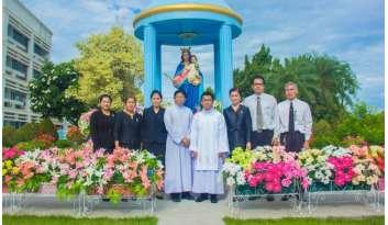 วันถวายปีการศึกษา5-มิถุนายน-2560โรงเรียนดรุณากาญจนบุรี