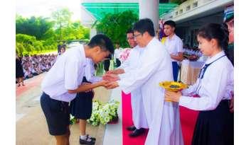 แต่งตั้งคณะกรรมการสภานักเรียน2560โรงเรียนดรุณากาญจนบุรี
