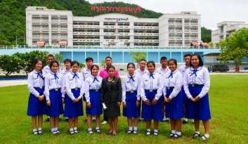 ชุมนุมนิทานพื้นบ้านดรุณากาญจนบุรีโรงเรียนดรุณากาญจนบุรี