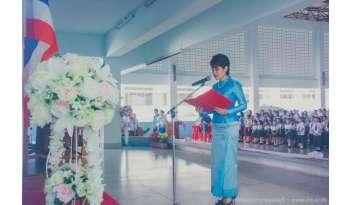 วันแม่ดรุณากาญจนบุรีแผนกสามัญและสองภาษา