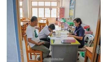 โรงเรียนเปิดห้องเรียนต้อนรับผู้ปกครองนักเรียน