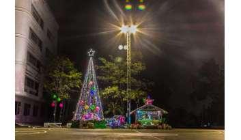 เปิดไฟถ้ำพระกุมารและต้นคริสตมาสโรงเรียนดรุณากาญจนบุรี