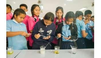 ค่ายวิชาการนักเรียนชั้นประถมศึกษาปีที่-๖-โรงเรียนดรุณากาญจนบุรี