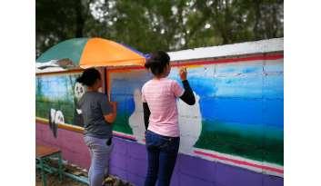 กลุ่มนักวาดภาพแนวสตรีทอาร์ตดรุณกาญจนบุรี