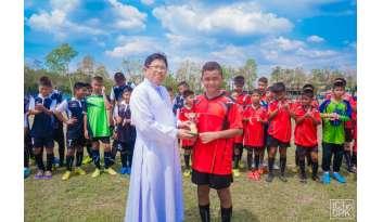 การแข่งขันฟุตบอลกระชับมิตร-ทีมฟุตบอลชายรุ่นอายุ-๑๒-ปี
