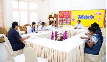ประชุมกรรมการภาคีและกรรมการบริหาร-โรงเรียนดรุณากาญจนบุรี