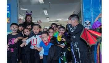 กิจกรรมวันฮาโลวีน-โรงเรียนดรุณากาญจนบุรีปีการศึกษา-2561