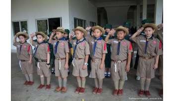 ค่ายลูกเสือเนตรนารีประจำปี-2561-โรงเรียนดรุณากาญจนบุรี