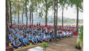 กิจกรรมรักพ่อร่วมใจดูแลสิ่งแวดล้อม-โรงเรียนดรุณากาญจนบุรี