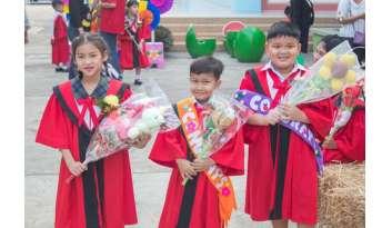 วันแห่งความยินดี-บัณฑิตน้อยดรุณากาญจนบุรี