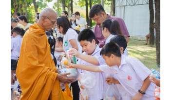 กิจกรรมส่งเสริมพระพุทธศาสนาโรงเรียนดรุณากาญจนบุรี