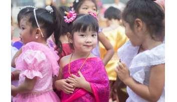 ระดับปฐมวัยสืบสานประเพณีไทยลอยกระทง-โรงเรียนดรุณากาญจนบุรี
