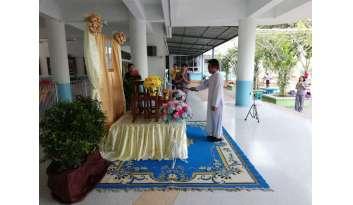 กิจกรรมวันพ่อแห่งชาติระดับปฐมวัย-โรงเรียนดรุณากาญจนบุรี