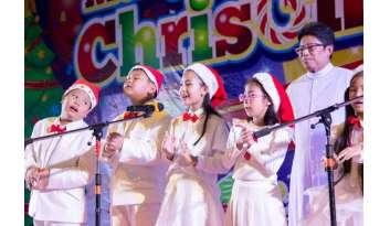 การแสดงนักเรียนเนื่องในเทศกาลคริสต์มาส-2019