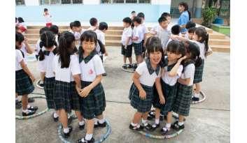 กิจกรรมวันเด็กแห่งชาติระดับปฐมวัย-โรงเรียนดรุณากาญจนบุรี