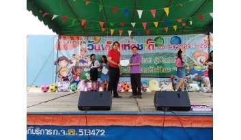 โรงเรียนดรุณากาญจนบุรีร่วมจัดกิจกรรมวันเด็กที่เทศบาลตำบลปากแพรก