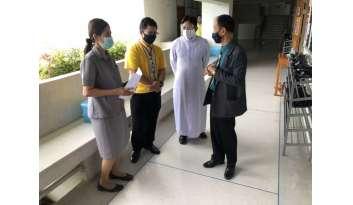 ศึกษาธิการจังหวัดตรวจเยี่ยมโรงเรียน-พร้อมสื่อมวลชนช่อง-11-กาญจนบุรี