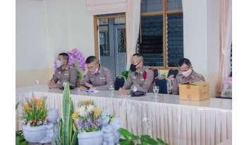 รอง-ผกก-ป-สภ-เมืองกาญจนบุรีเยี่ยมเยียนโรงเรียนดรุณากาญจนบุรี