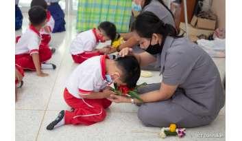 พิธีไหว้ครู-ปีการศึกษา-2563-โรงเรียนดรุณากาญจนบุรี