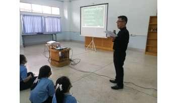 การอบรมนักเรียนระดับชั้นประถมศึกษาปีที่-6-โรงเรียนดรุณากาญจนบุรี