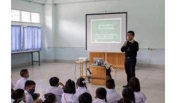 """อบรมนักเรียน-""""รู้ตน-รู้สังคม-เพื่ออนาคตที่สดใส"""""""