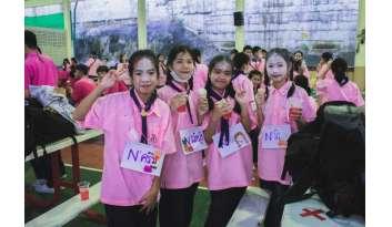 กิจกรรมสานสัมพันธ์ฉันพี่น้อง-โรงเรียนดรุณากาญจนบุรี