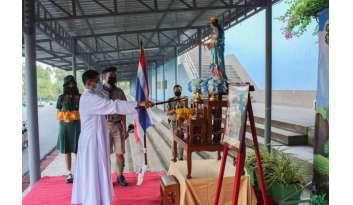 โรงเรียนดรุณากาญจนบุรีจัดกิจกรรมค่ายลูกเสือ-เนตรนารี-จิตอาสา