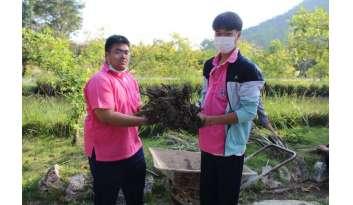 โรงเรียนดรุณากาญจนบุรีจัดกิจกรรมจิตอาสานักเรียนระดับชั้นมัธยมศึกษา