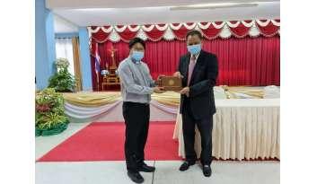 โรงเรียนดรุณากาญจนบุรีรับเกียรติบัตรผลการทดสอบ-o-net