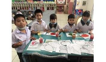 project-approach-สลัดผลไม้-ดรุณากาญจนบุรี